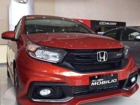 2017 Honda Mobilio E Mt 79kdp Phoenix Orange Pearl Jazz City 2018