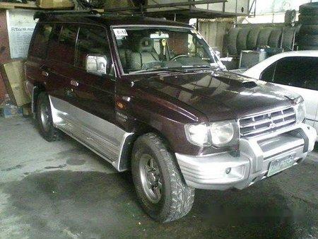 Mitsubishi Pajero 2003 SUV red for sale