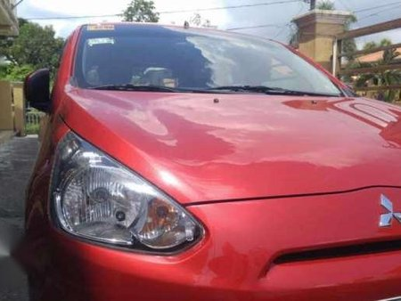 Mitsubishi Mirage Glx 2014 AT Red For Sale