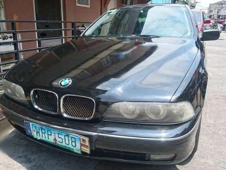 2000 BMW 520i E39 AT Black Sedan For Sale