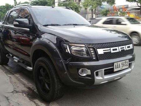 2014 Ford Ranger Wildtrak 4x4 Matic Black