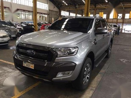 2016 Ford Ranger Wildtrak 4x4 MT Silver