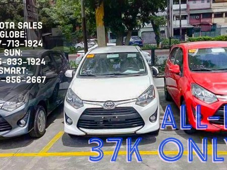 Sell White 2019 Toyota Wigo in Manila