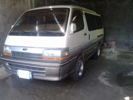 Toyota Hi-ace 1991 AT White Van For Sale
