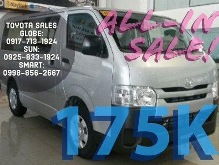 Brand New 2019 Toyota Hiace for sale in Metro Manila
