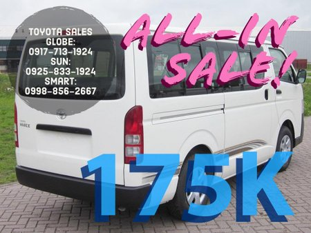 Sell Brand New 2019 Toyota Hiace Van Manual in Metro Manila