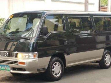 b0cf1f8f17 2014 Nissan Urvan MT Black Van For Sale 221148