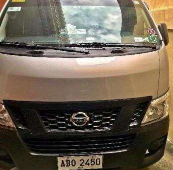 11b1317648 Nissan Urvan 2015 NV350 MT Silver For Sale 221113