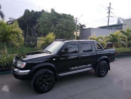 2000 Nissan Frontier 4x4 3 2 At Black For Sale 222064