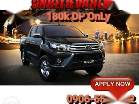 Promo 2017 Brand New Toyota Hilux 4x2 G Automatic For