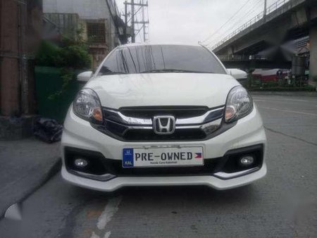 Low Mileage 2015 Honda Mobilio Rs 1 5l At For Sale 230557
