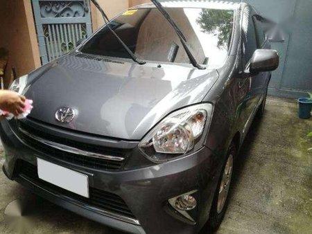 Toyota Wigo 2013 AT Gray HB For Sale