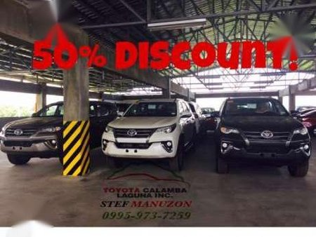 2018 Toyota Fortuner for 109k All in DP for sale