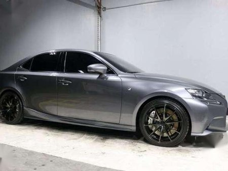 2014 Lexus IS350 F Sport Gray AT For Sale
