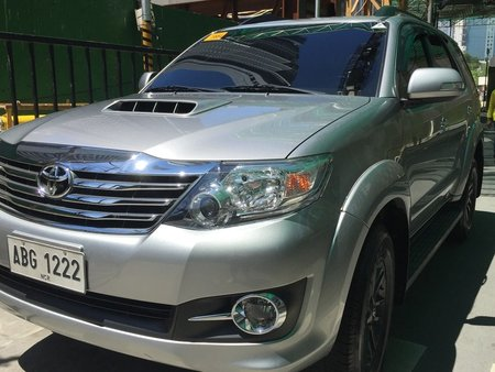 Toyota 2015 FORTUNER 4X2 2.5L G AT FOR SALE