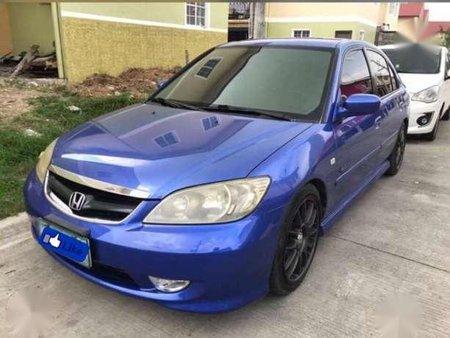 Honda Civic Rs 2 0 Ivtech 2005 Blue For