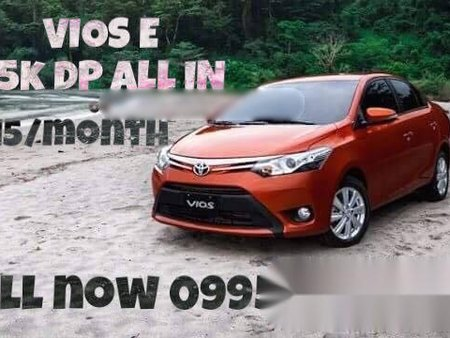 2018 TOYOTA VIOS E FOR 25K DP ONLY!