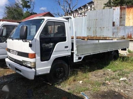 Cebu Surplus Isuzu Elf Wide 4hf1 Engine 16ft Aluminum Dropside