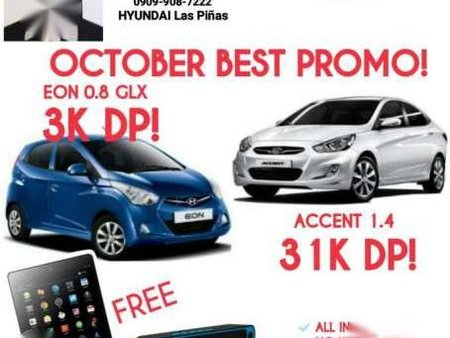 Hyundai Eon Accent 3k Lowest Down Payment Vs Wigo Vios For