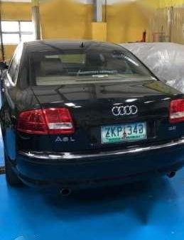 Audi A8 L (Long) 2008 Dark Blue for sale