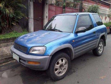 1997 Toyota RAV4 3DOOR 4X4 Blue For Sale 278780