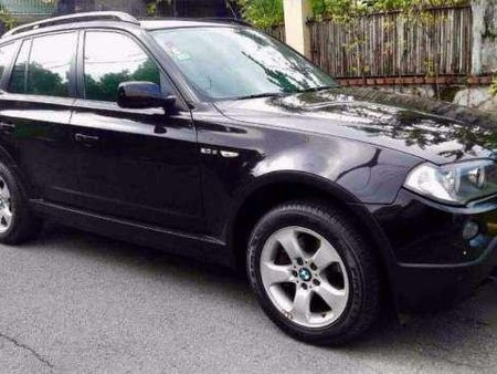 2009 BMW X3 20 AT AWD Black For Sale