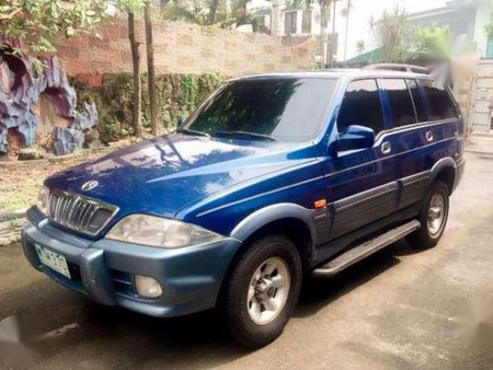 All Original 2003 Ssangyong Musso AT For Sale