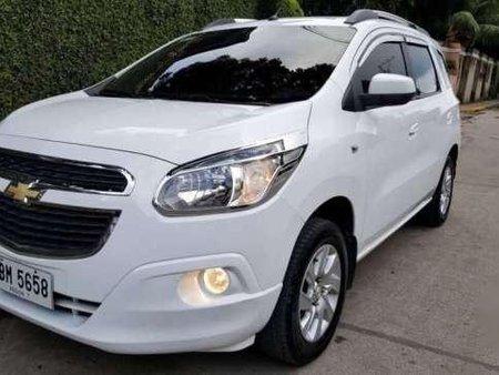 2015 Chevrolet Spin Ltz At White For Sale 280955