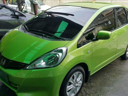 Honda Jazz 2013 Green For Sale 282141