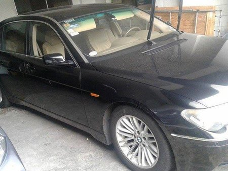 BMW 735LI sedan black for sale
