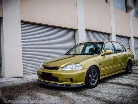 Honda Civic Sir 2000 Mt Yellow For Sale 288266