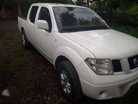 2009 Nissan Frontier Navara White For Sale 290048