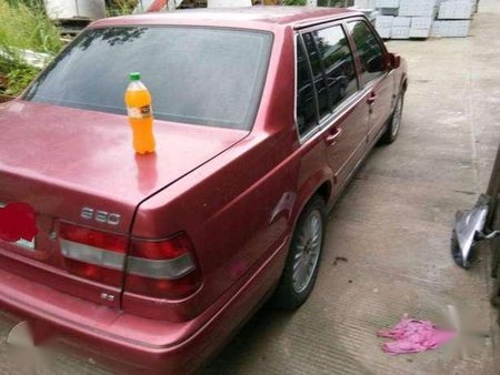 Fresh Volvo 960 1997 AT Red For Sale