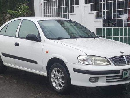 Nissan Sentra 2004 Gasoline Automatic White For Sale 294887
