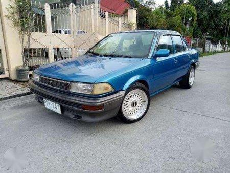 Toyota corolla smallbody