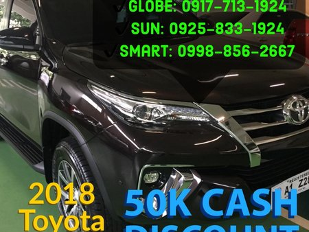 Selling Black Toyota Fortuner 2019 Automatic in Muntinlupa