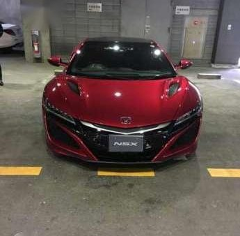 Fresh Acura NSX Coupe AT Red For Sale