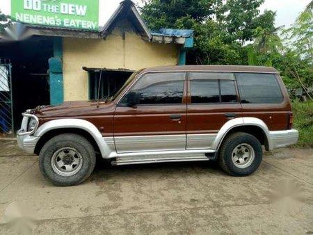 Mitsubishi Pajero 4x4 1995 2.8 MT Brown For Sale