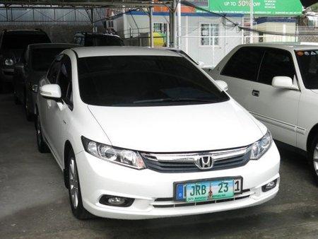 2012 Honda Civic Gas Fuel Automatic transmission