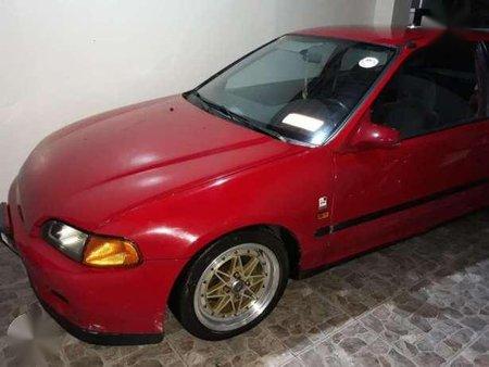 Honda Civic EG Hatchback MT Red For Sale