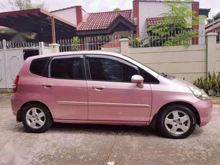 Pink Honda Jazz 2006 At For Sale 316905