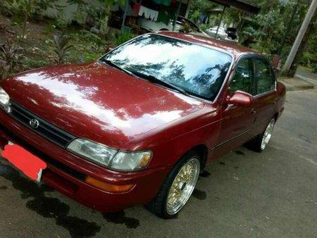 Toyota corolla bigbody gli 94 red for sale freerunsca Image collections