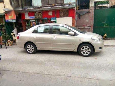 Toyota Vios E 2011 Manual Beige For Sale