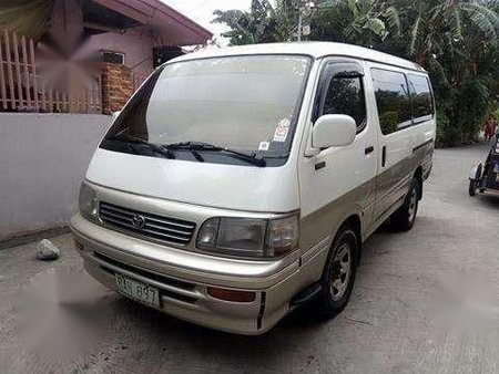 For sale 1990 Toyota Hi-Ace Super Custom Van