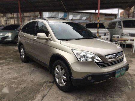 2007 Honda Cr V 2 4 At Beige Suv For