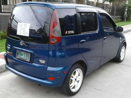 2000 Toyota Echo Verso MT Blue For Sale