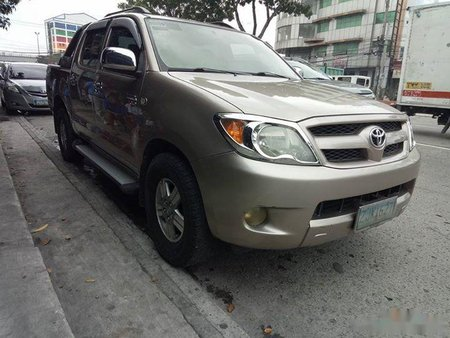 toyota hilux 2007 gasoline manual beige for sale 335991 rh philkotse com manual toyota hilux 2007 descargar manual toyota hilux 2007 descargar