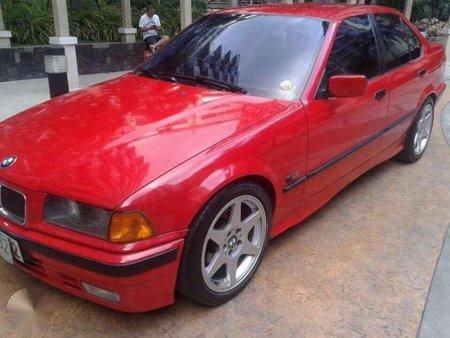 1996 Bmw 316i Manual Red Sedan For Sale 346524