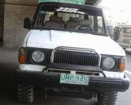 Isuzu Trooper manual diesel 4 by 4 for sale