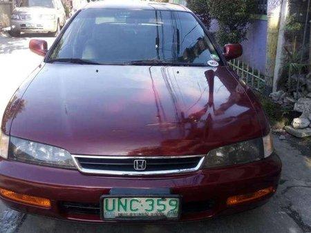 honda accord 1997 manual red sedan for sale 353500 rh philkotse com honda accord 1997 manual online honda accord 1997 manual pdf